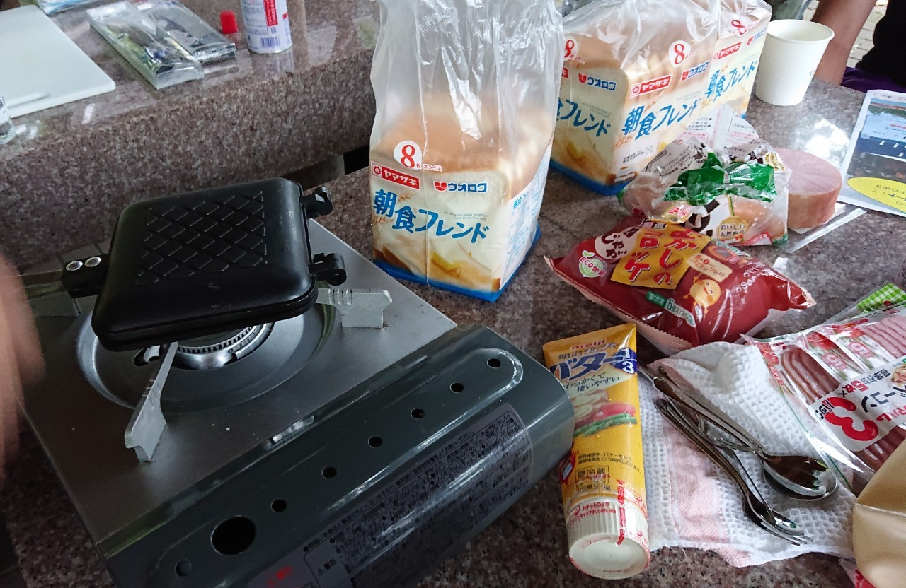 8月15日(土)ホットサンド×コーヒー朝活開催しました!